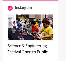 Instagram-Science & Engineering Festival Open to Public