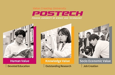 POSTECH Unveils 'Value Creating University' UI