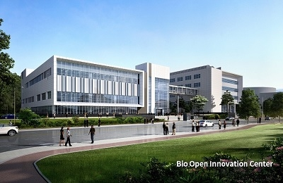 The construction of Bio Open Innovation Center begins