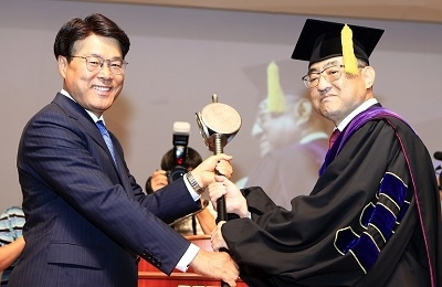 Inauguration Ceremony for POSTECH's 8th President Held on September 3rd