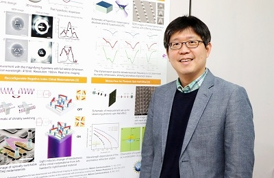 POSTECH Professor Junsuk Rho Receives the Micromachines 2020 Young Investigator Award
