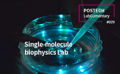 Single-molecule biophysics lab