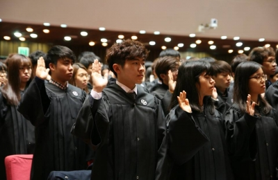 POSTECH Welcomes New Students at the 2015 Matriculation Ceremony