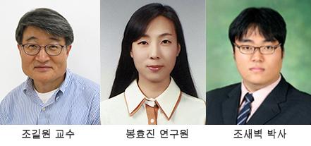 조길원 교수(58), 봉효진 연구원(30), 조새벽 박사(28)