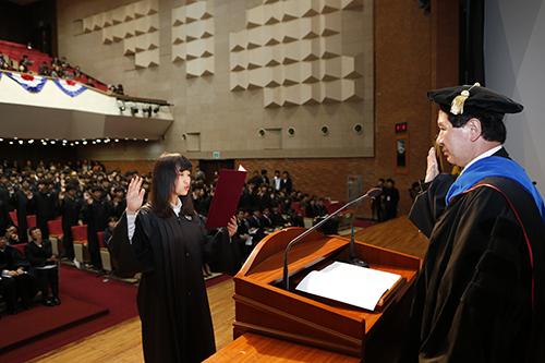POSTECH, 2015학년도 입학식 개최