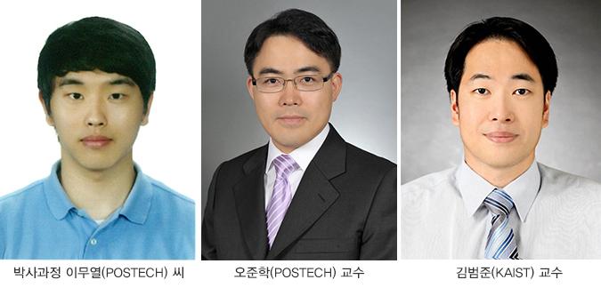 오준학(POSTECH) 교수, 김범준(KAIST) 교수