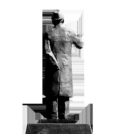 박태준 동상 이미지