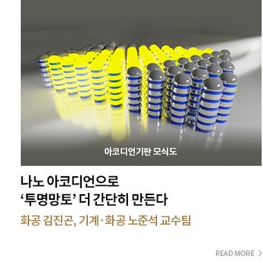 나노 아코디언으로 '투명망토' 더 간단히 만든다. - 화공 김진곤,기계 화공 노준석 교수팀 - READ MORE