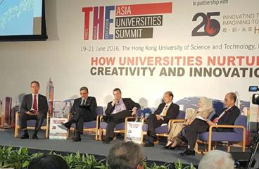 HKUST 25주년 기념 행사 및 아시아대학총장회의 참석
