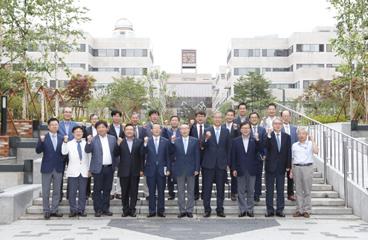 한양대 김종량 이사장, 이영무 총장 및 대학 관계자 내방