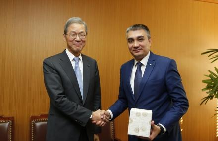 주한우즈베키스탄 대사관 Botirjon ASADOV 대사 방문