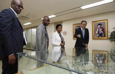 남아프리카공화국 대사관 Nozuko Gloria Bam 대사 일행 방문