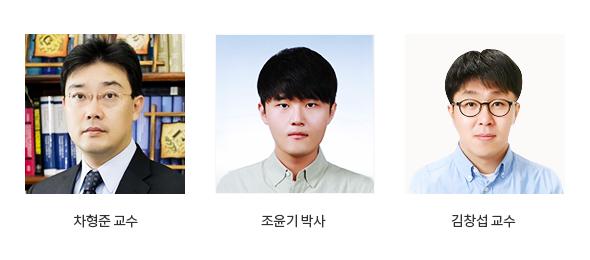 차형준교수,조윤기박사,김창섭교수