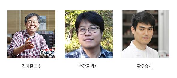 김기문교수,백강균박사,황우습씨