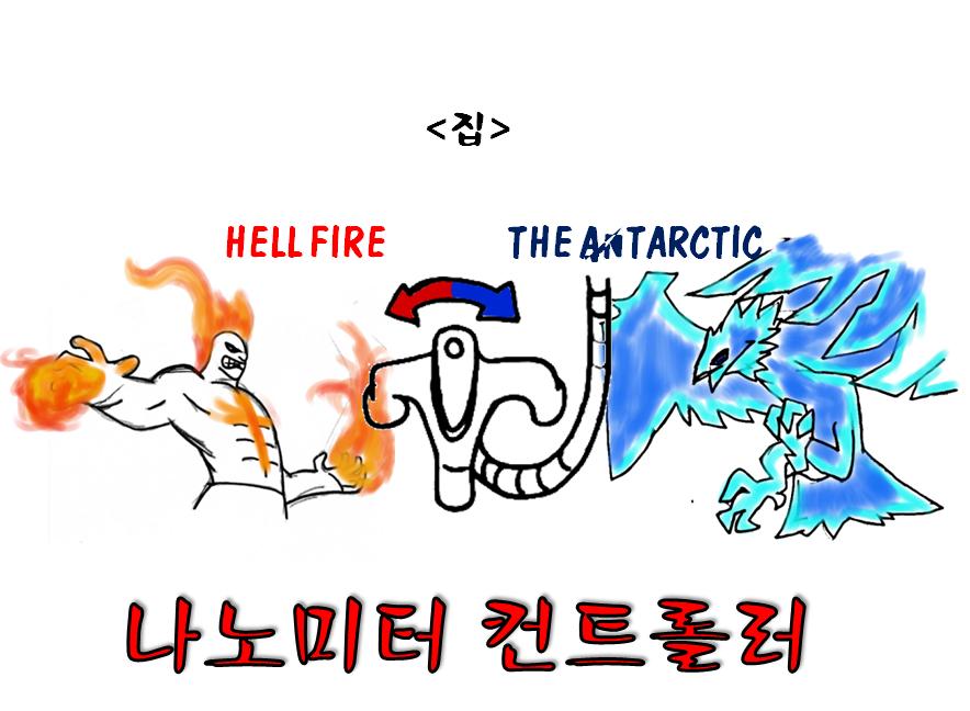 집 HELL FIRE THE ANTARCTIC 나노미터 커드롤러