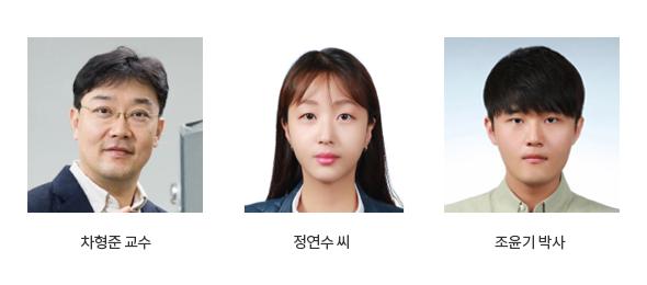 차형준교수, 정연수 씨, 조윤기 박사
