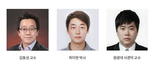 김동성 교수_최이현 박사_원광대 서경덕 교수