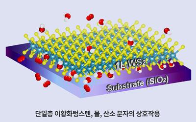 화학 류순민 교수팀, 그래핀 '물'과 '산소' 때문에 성질 변한다